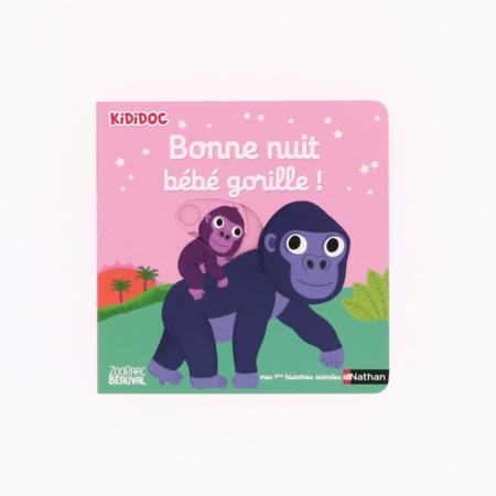 Livre Bonne nuit bébé gorille ! - Kididoc NATHAN 1