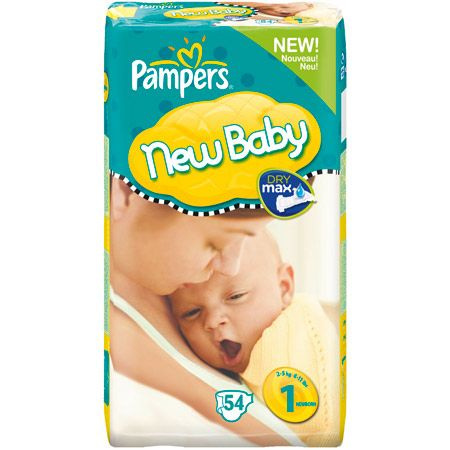 Couches New Baby PAMPERS 2