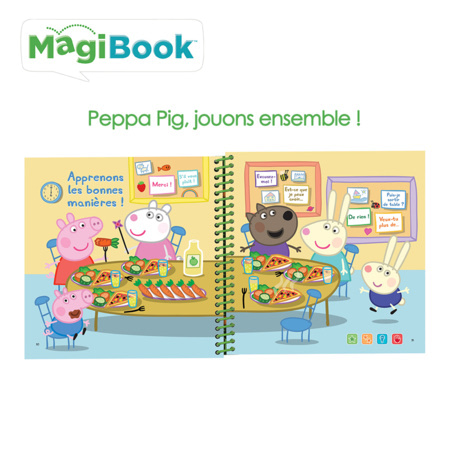 Magibook - Peppa Pig Jouons ensemble! VTECH 2