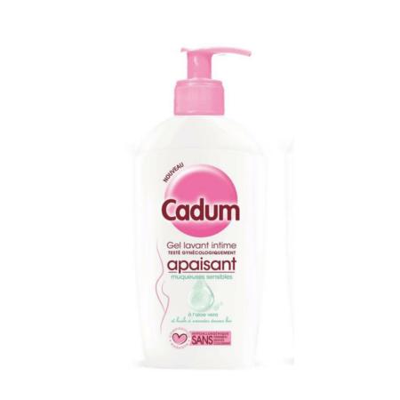 Gel lavant intime apaisant muqueuses sensibles CADUM 1