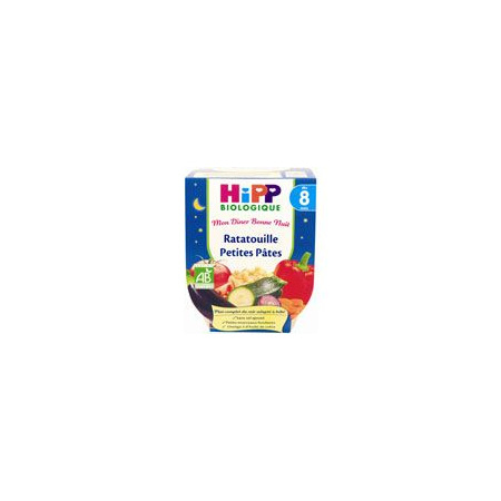 Ratatouille petites pâtes 190 g dès 8 mois HIPP 1