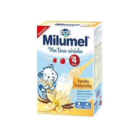 Mes 1ères céréales infantile Milumel - Vanille naturelle LACTEL 1