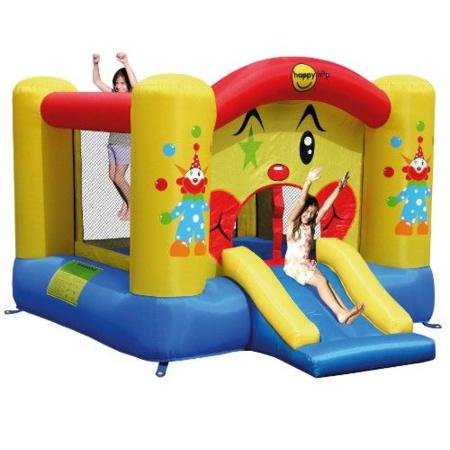 Château gonflable Clown avec toboggan HAPPY HOP 1
