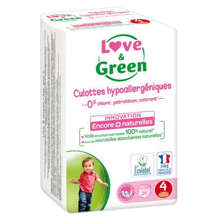 Culottes d'apprentissage écologiques LOVE AND GREEN 1