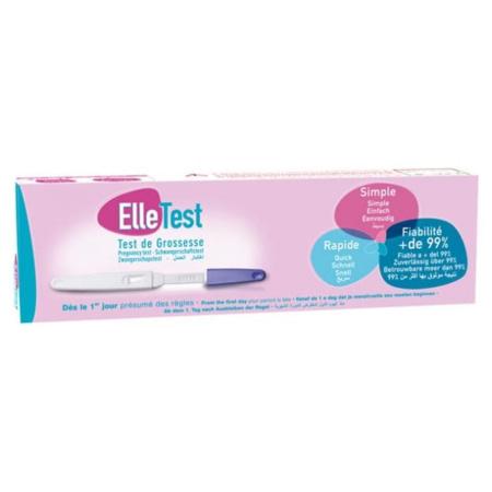 Test de grossesse Elle LABORATOIRES GILBERT 1