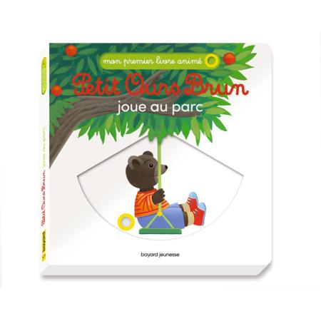 Livre Petit Ours Brun joue au parc BAYARD JEUNESSE 1