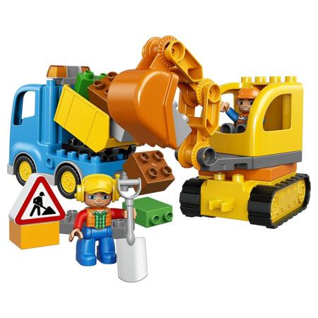 Duplo - Le camion et la pelleteuse LEGO 1