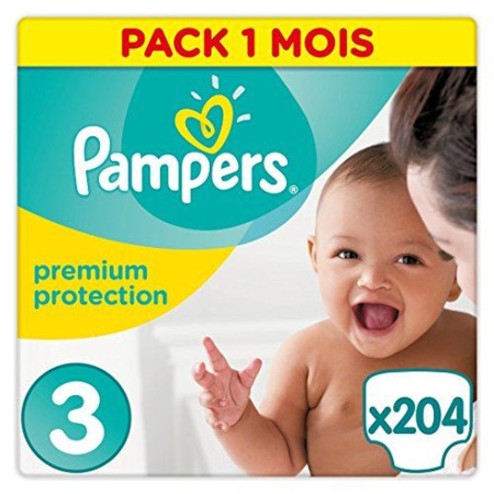 Couches Premium Protection PAMPERS 1