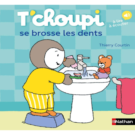 Livre T'Choupi se brosse les dents NATHAN 1