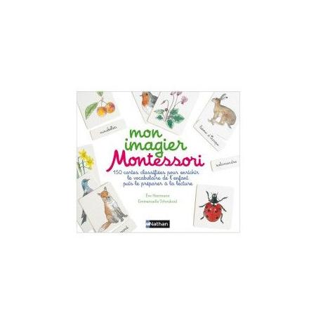 Livre Mon imagier Montessori NATHAN 1