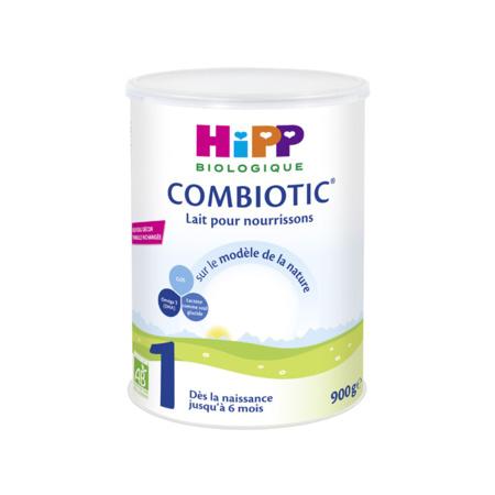 Lait 1 COMBIOTIC® pour nourisson - 1 boîte x 800g - 0-6 mois HIPP 1