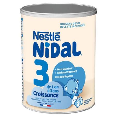 Lait 3ème âge NIDAL Croissance 800g NIDAL NESTLE 1