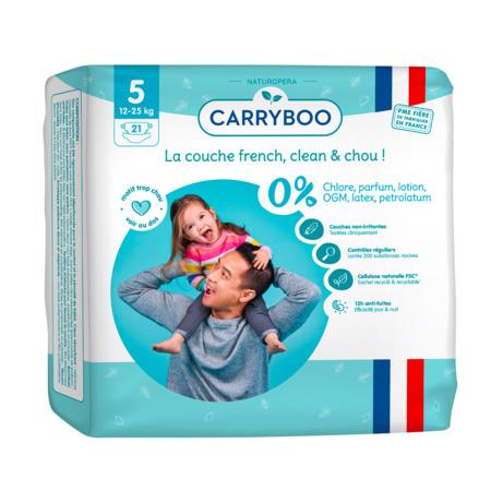 Couches écologiques dermo-sensitives CARRYBOO 10