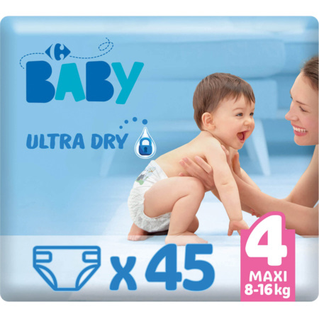 Couches Ultra Dry MY CARREFOUR BABY 2