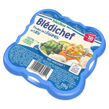 BLEDICHEF Fondue de légumes et lieu  BLEDINA 3