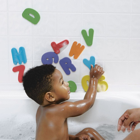 Lettres et chiffres pour le bain BABIES R US 1