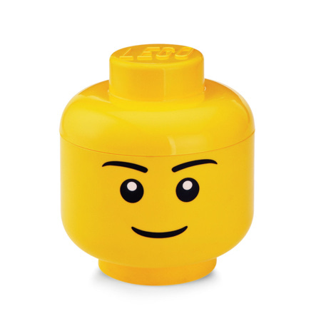 Rangement tête de garçon LEGO 1