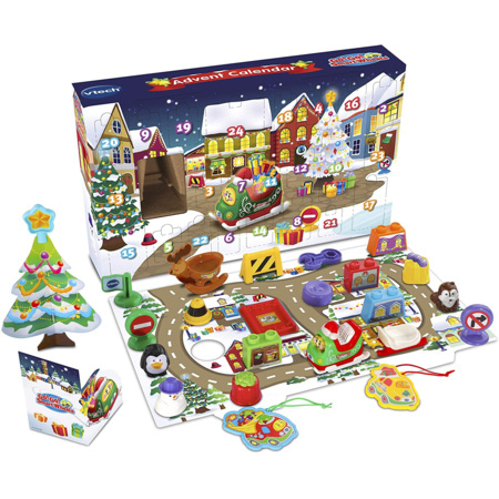Toot-Toot Drivers Advent Calendrier VTECH 1