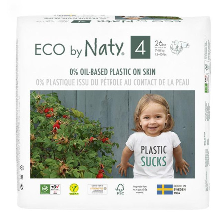 Couches Naty écologiques NATURE BABYCARE 5