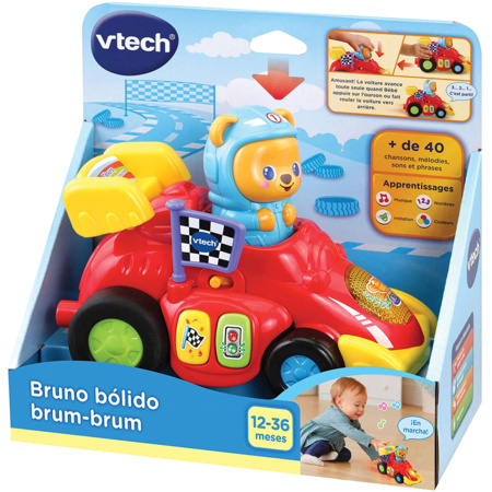 Bruno bólido brum-brum VTECH 1