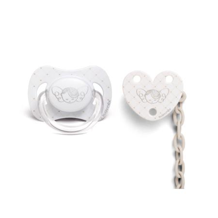 Set Doudou + Sucette + Attache-sucette Collection White SUAVINEX 3