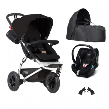 Poussette Swift + Cocoon V2 + coque Cybex Aton 5 MOUNTAIN BUGGY 1