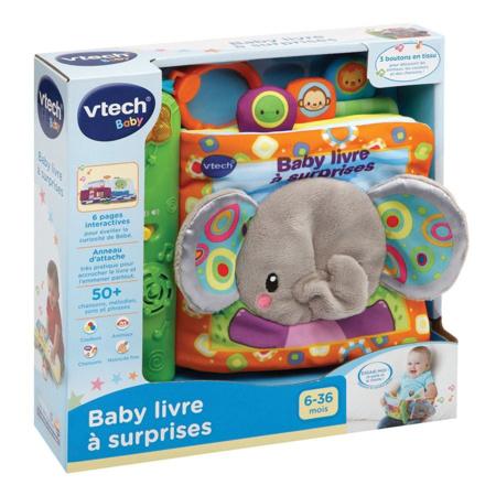 Baby livre à surprises VTECH 3