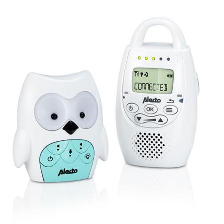 Moniteur mouvements & respiration + Babyphone sans onde Chouette NANNY CARE 3