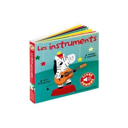 Livre sonore imagier Les instruments GALLIMARD JEUNESSE 1