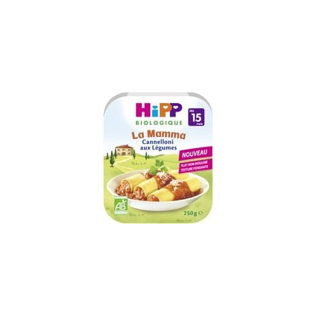 La Mama - Cannelloni aux légumes (Dès 15 mois) HIPP 1