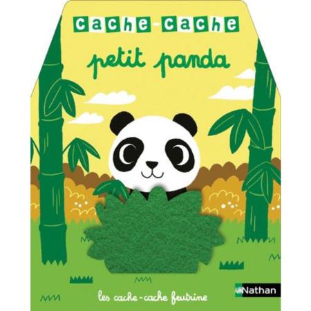 Livre Cache-Cache petit panda NATHAN 1