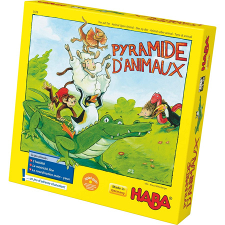 Pyramide d'animaux HABA 1