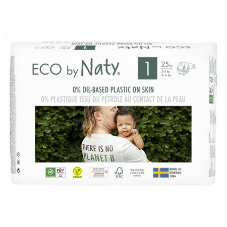 Couches Naty écologiques NATURE BABYCARE 1