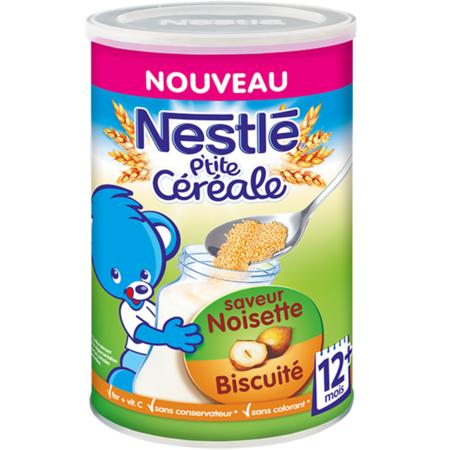 P'tite Céréale Noisette-Biscuité 1