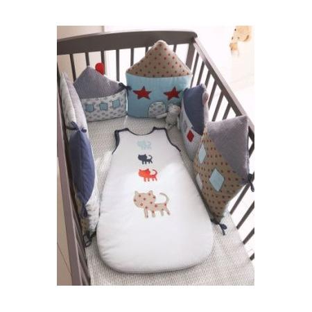 Tour de lit modulable bebe Miaou  1
