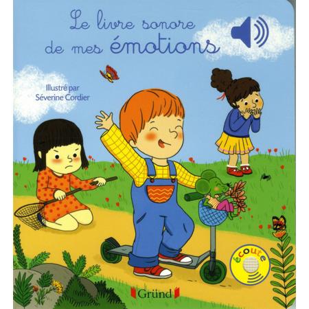 Le livre sonore de mes émotions GRUND 1