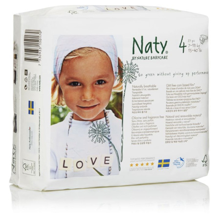 Couches Naty écologiques NATURE BABYCARE 6