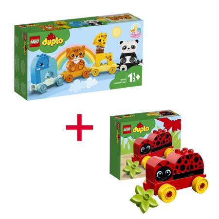Duplo - Mes 1ers pas Le train des animaux + Ma première coccinelle LEGO 1