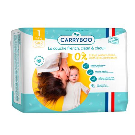 Couches écologiques dermo-sensitives CARRYBOO 1