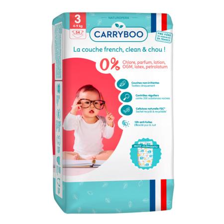 Couches écologiques dermo-sensitives CARRYBOO 5
