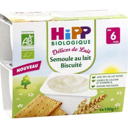 Semoule Au Lait Biscuité HIPP 1