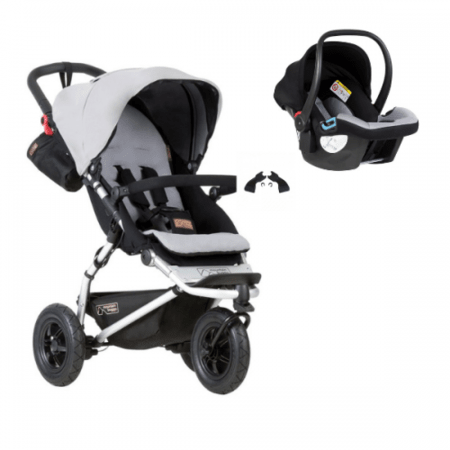 Poussette Swift + coque auto Protect MOUNTAIN BUGGY 1