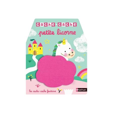 Livre Cache-cache petite licorne NATHAN 1