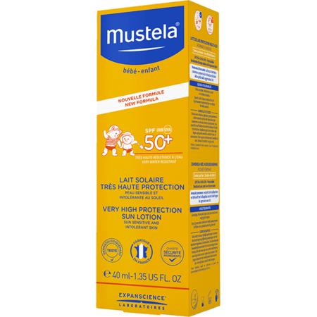 Lait solaire très haute protection SPF 50+ MUSTELA 4