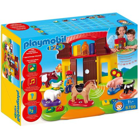 Playmobil 1.2.3 - Ferme interactive PLAYMOBIL 1