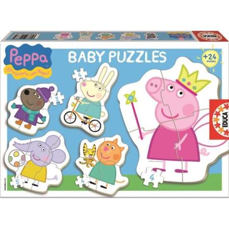 Baby puzzles Peppa Pig EDUCA 1