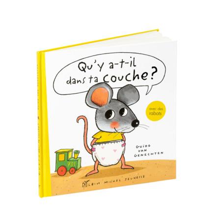 Livre Qu'y a-t-il dans ta couche ? EDITIONS ALBIN MICHEL 1