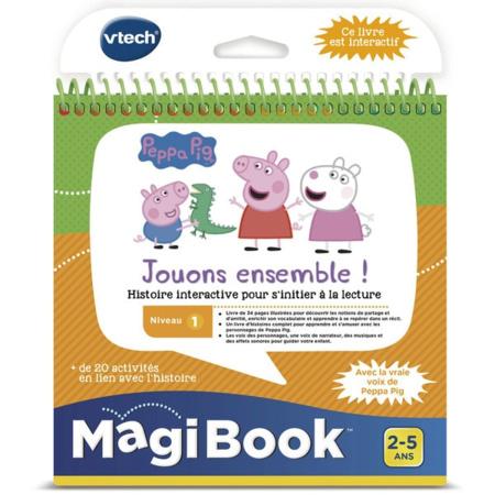 Magibook - Peppa Pig Jouons ensemble! VTECH 1