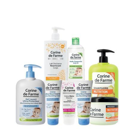 Kit hydratation pour bébé et maman CORINE DE FARME 1