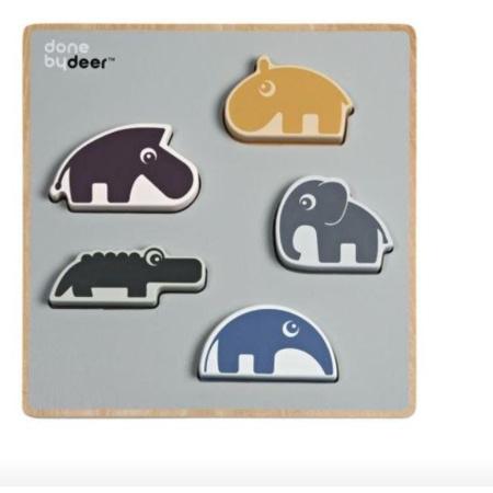 Puzzle à encastrer Deer friends 1